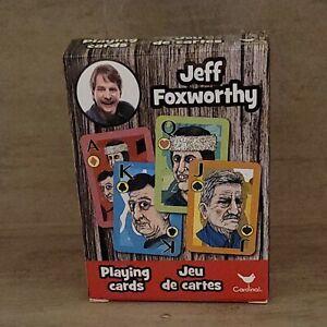 Jeff Foxworthy Playing Cards Cardinal Brand Southern Draw New/Sealed