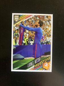 LIONEL MESSI - #392, Panini FIFA 365: 2017/2018, Milestone, MINT, FC Barcelona