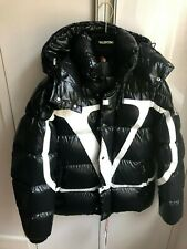 Authentic Valentino Moncler VLOGO lacquered Jacket EU 44 UK 34 US34 with receipt