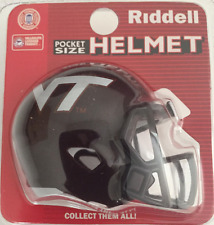 VIRGINIA TECH HOKIES Riddell Speed MICRO / POCKET-SIZE / MINI Football Helmet