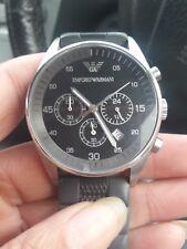 mens armani watch used