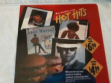 Mcdonalds Translite Drive Tru Advertising Sign Hot Hits Music Collection