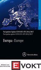 Navigation Navi DVD COMAND APS Europe 2017/2018 NTG2 | Original Mercedes-Benz