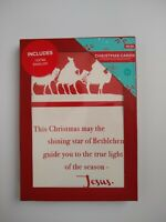 New Boxed Christmas Cards & Envelopes 12 Count True Light of the Season, Jesus