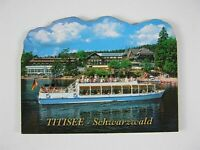 Schwarzwald Titisee Germany,2D Holz Magnet,Souvenir Deutschland