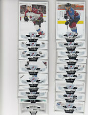 19/20 OPC Colorado Avalanche Team Set with RC and Insert - Brassard Makar RC +