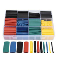 530pcs Heat Shrink Tubing Insulation Shrinkable Tube 2:1 Wire Cable Wrap Sleeve