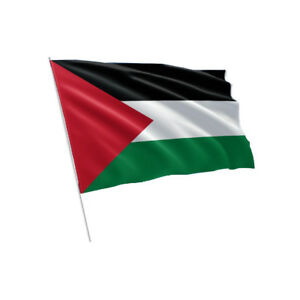 Palestine pole Flag (New)