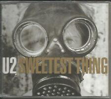 U2 Sweetest Thing MIX & 2 LIVE TRX Europe CD single SEALED USA seller 572466 u2