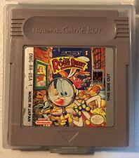 Nintendo Gameboy Who Framed Roger Rabbit Boy Cart And Case