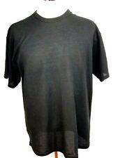 Men's Russell Athletic Dri Release Black Short Sleeve T Shirt Size L. Z