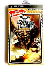 Monster Hunter Freedom PSP Juego Completo Mint Playstation Videojuego Retro SPA