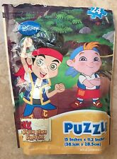 Disney Jake and The Never Land Pirates Puzzle On The Go! 24 Piece Puzzle - Used