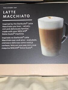 3 Boxes, (a case) Latte Macchiato by Nescafe Dolce Gusto Coffee Capsules 7-20