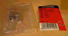2x F-stekker voor Coax kabel van 6,0-6,5 mm NIEUW
