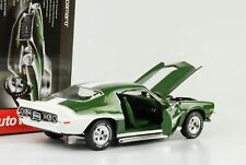 1970 Chevrolet Chevy Camaro Baldwin Motion Z28 grün metallic 1:18 Auto world Ert