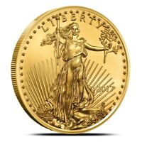 1 Oz American Gold Eagle Coin - Random Dates/Years (Our Choice) - Gem BU