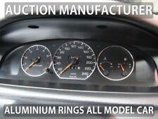 Mazda 626 GE 1992-1997 Chrome Cluster Gauge Dashboard Rings Speedo Trim 3pcs