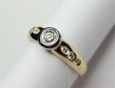 Ring 750 Gelbgold mit echten Brillanten zus. ca. 0,30ct