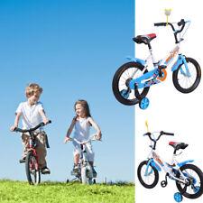 Kinderfahrrad 16 Zoll Kinder Fahrrad mit Stützräder Qualitäts Kinderfahrrad BLAU