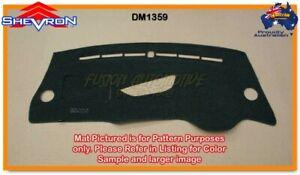 Black Dashmat for KIA Pro-cee'd JD 1/2014 on Dash Mat DM1359