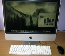 "Apple iMac 7,1 A1225 24"" 2007 Core2Duo 2.4Ghz-4GB RAM-500GB-ATI Radeon HD2600"