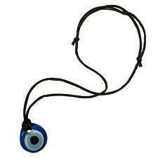 New Turkish Glass Amulet Evil Eye Charm Necklace Good Luck Gift Collectable