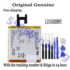 Original Genuine LIS1502ERPC Battery For SONY Xperia Z L36h C6603 T-Mobile C6602