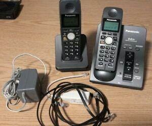 Panasonic KX-TG6051B 5.8GHZ Cordless Phone System PQLV30054ZAB