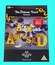 WE ARE MOST AMUSED - The Princes Trust Presents - DVD - BRAND NEW