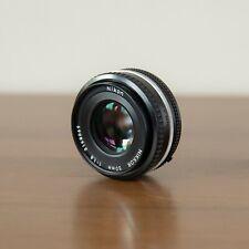 Nikon 50mm f/1.8 Nikkor AI-S Pancake Lens