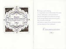 Hallmark 25th Silver Anniversary Card For Daughter--You've Built a Lovely Life
