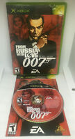 007 From Russia with Love - James Bond - Complete - Tested & Works -Xbox