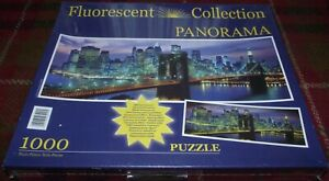 SUPERB CLEMENTONI NEW YORK BROOKLYN BRIDGE FC 1000 PIECE PUZZLE STILL SEALED