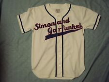 Simon & Garfunkel 2003 Old Friends Baseball Jersey Adult Size Medium NWOT!!