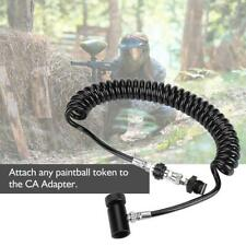 Paintball CO2 Fill Station Tank Refill Filler Valve Hose Remote Coil Control New