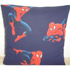 "Spiderman 16"" Copricuscino KID'S BEDROOM Playroom MARVEL SUPEREROI DC COMICS"
