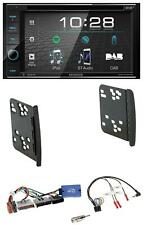 Kenwood USB DVD DAB Lenkrad Bluetooth 2DIN Autoradio für Ford Fiesta Focus Galax