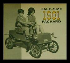 1901 Packard 1/2 scale Sidewalk Car How-To build Plans