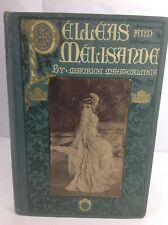 Antique Romance - 1908 Pelleas And Melisande by Maurice Maeterlinck - French Lit