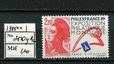 MTA0918 France 1988 1v MNH Philately