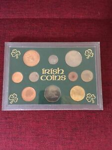 IRELAND/IRISH COIN SET 1968 - 2000 10 Coin Set