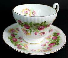 Vintage Royal Fine Minster Bone China Tea Cup and Saucer England