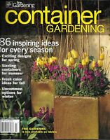 Container Gardening Magazine Spring Designs Summer Projects Fresh Fall Color