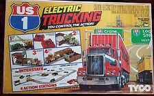 tyco US 1 ELECTRIC TRUCKING SLOT CAR TRUCK TRACK NEW NOS IN BOX