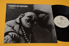 THE CRIMES OF NATURE LP BUDDHA 1°ST ORIG 1987 EX MEGA RARE VINYL EDITION !!!!!!!
