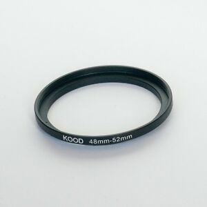 STEP UP ADAPTER 48MM-52MM STEPPING RING 48MM TO 52MM 48-52 FILTER ADAPTOR