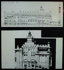 Otto Wagner, Competition Project for Palace of Peace, Magic Lantern Glass Slide