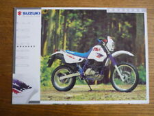 SUZUKI DR 650RE MOTORBIKE BROCHURE,  1995  POST FREE (UK)