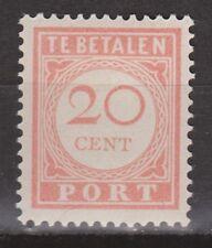 Port 31 MNH Nederlands Indie Netherlands Indies due portzegel Very Fine